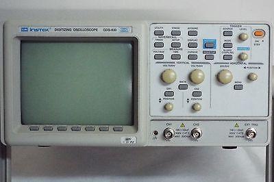 Gw Instek Digitizing Oscillscope 100mhz Gds 830