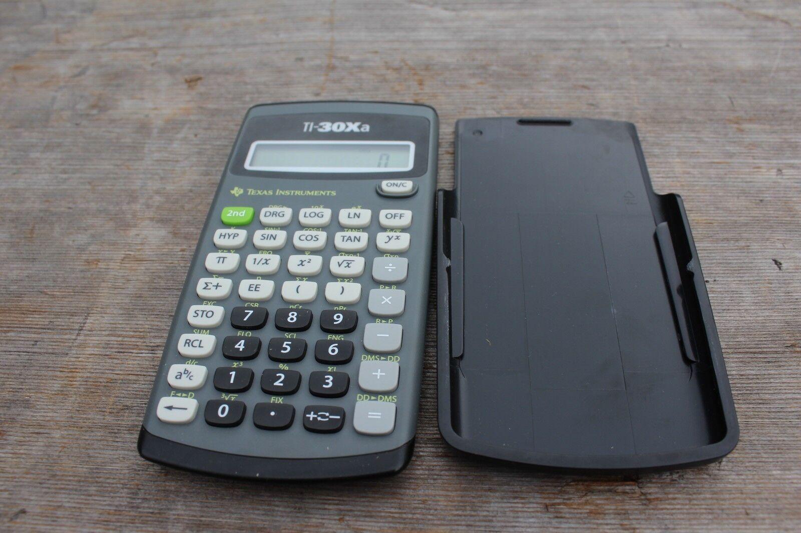 Texas Instruments TI-30XA Solar Scientific Calculator School College