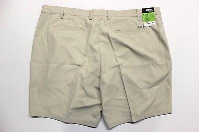 Men's IZOD Big & Tall Classic Fit Microfiber Golf Shorts (482466) Stonedust Classic Microfiber Shorts