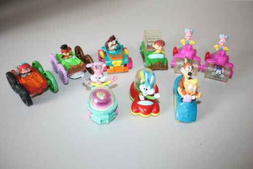 Vintage McDonald Lot of 9 Tiny Toons Looney Tunes Collectible Toys  1990