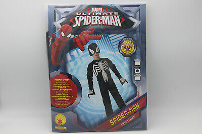 Rubie's Marvel Ultimate Black Spiderman Kinder Kostüm, Gr. - Marvel Kind Kostüme
