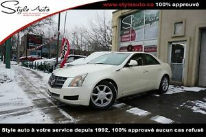 2009 Cadillac CTS 4 Berline 4 portes, traction intégrale CUIR TO