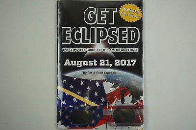 Get Eclipsed Guide Book W  Nasa Approved Solar Eclipse Glasses 2017 Collectible