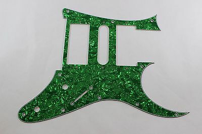 Used, Green Pearl Pearloid Pickguard Fits Ibanez (tm) Universe UV UV777 7 String- HSH for sale  Plainfield
