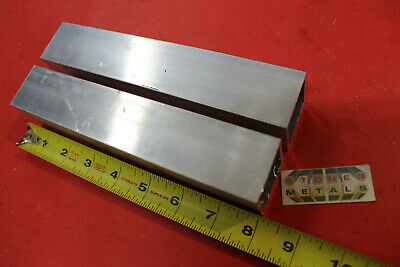 2 Pieces 1-12x 1-12x 18 Wall X 8 Long Aluminum Square Tube 6063 T52