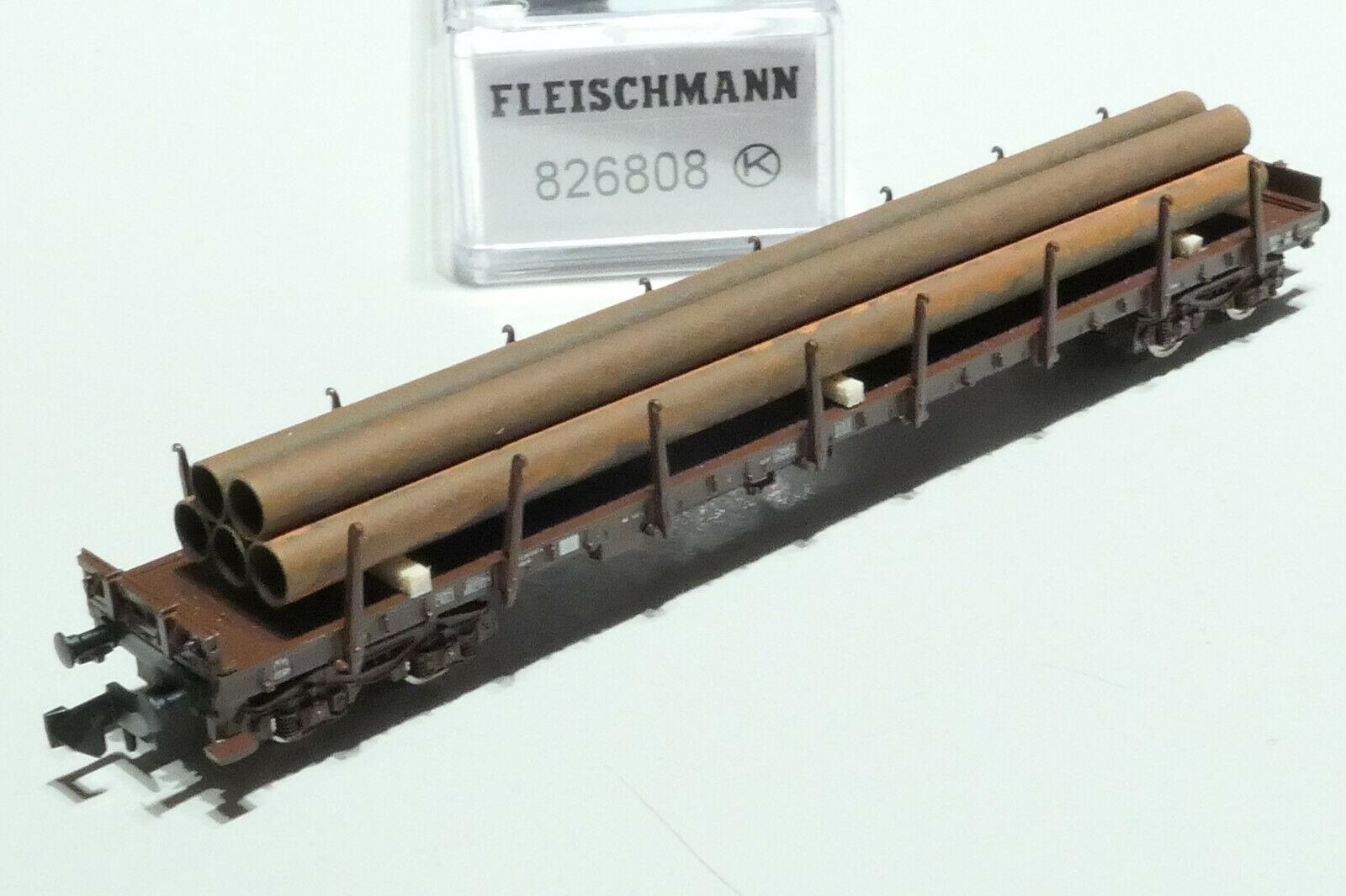 + NEU /& OVP Fleischmann 852325 N Selbstentladewagen-Set Falns der DSB