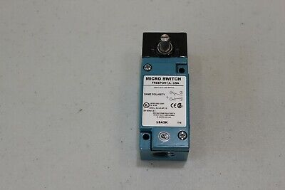 Honeywell Micro Switch Lsa3k Heavy Duty Limit Switch 10 Amp 600 Volt