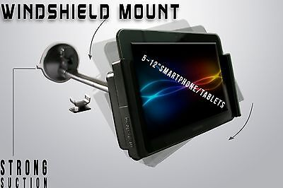 Car Windshield Tablet Smartphone Mount Holder for iPad Galaxy Tab Kindle Nexus for sale  Shipping to India
