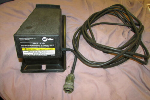 Miller Electric RFCS-5HD #195218 Foot Control Pedal