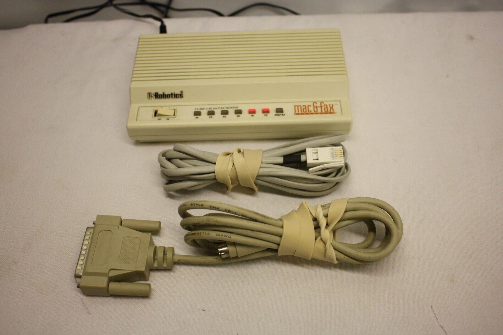 Image of US ROBOTICS FAX amp MODEM SPORTSTER 14 400 V 42 BIS MAC amp FAX SPORTSTER VERSION
