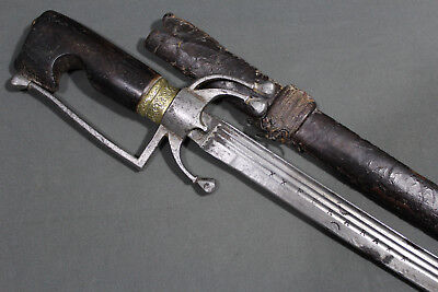 "Moroccan nimcha sword with blade signed ""ANDREA FERARA"" - 17th 18th century"