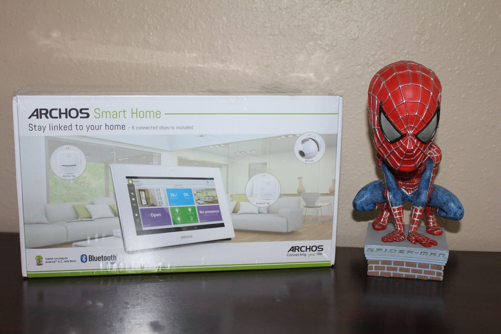 archos smart home surveillance kit with Bluetooth cameras motion and weather