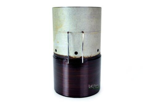 """4"""" Dual 2 Ohm Voice Coil 4 Layer Subwoofer Speaker Parts VC140418"""