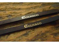 Colnago Lederriemen Pedalriemen leather pedal straps Campagnolo Record Vintage
