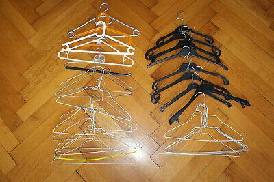 33x Konvolut Bügel Ikea Bumerang Metall Kleiderbügel TOP Plastik Hosenbügel SET, gebraucht gebraucht kaufen  Berlin