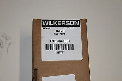 F16-04-000 Wilkerson Pneumatic Filter Nsn 4330014496612 New