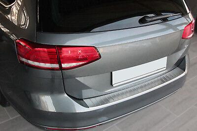 LADEKANTENSCHUTZ EDELSTAHL MATT für VW PASSAT B8 VARIANT ab 2014 | mit ABKANTUNG