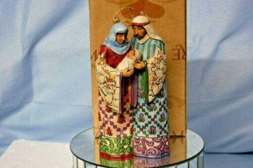 JIM SHORE - Heartwood Creek - Holy Family Ornament 2007 Enesco 4007946 (JS-4)