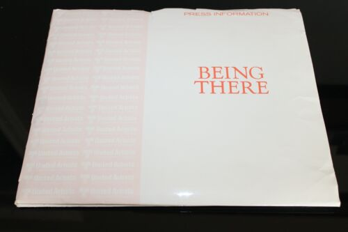BEING THERE PETER SELLERS MOVIE PRESS KIT PHOTOGRAPHS