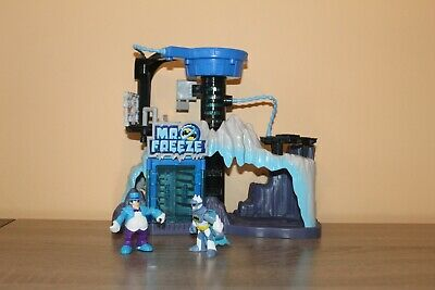 Fisher Price Imaginext Batman Mr. Freeze Headquarters Play Set With 2 figures