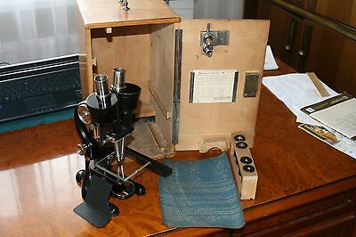 Microscope Reichert 1930