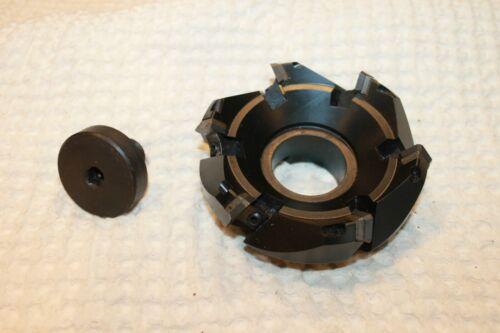 """Stellram  HSM-4E4-45, 4"""" EZ Face Mill"""