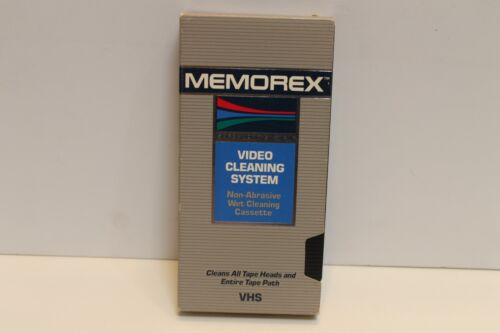 Memorex Video Cleaning System Wet Process VHS