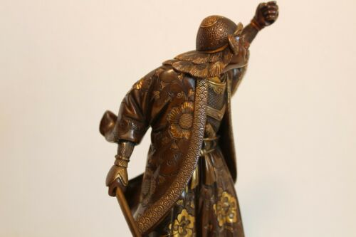 BEAUTIFUL & RARE JAPANESE MIYAO BRONZE ANTIQUE
