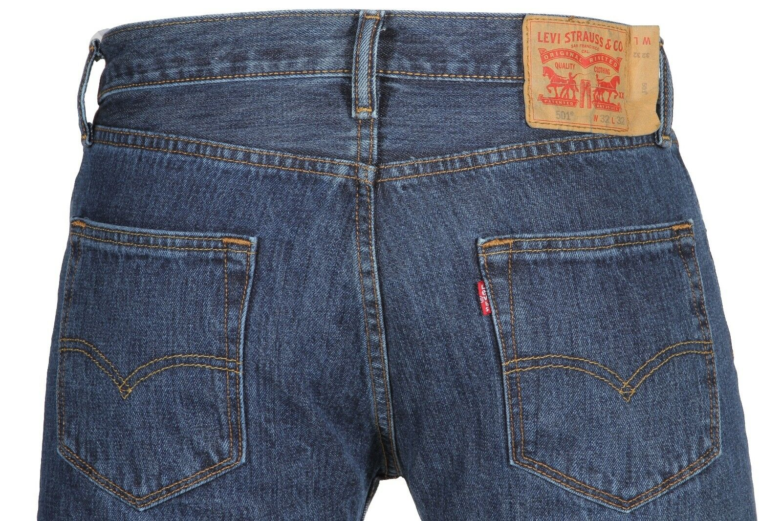 Товар Levi s Men s 501 Original Fit Jeans Straight Leg Button Fly ... 971154bdc93c2