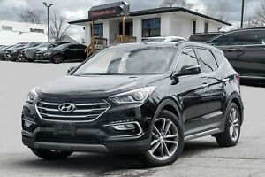 2018 Hyundai Santa Fe Sport 2.0T, PANO ROOF, BACKUP CAM, LEATHER
