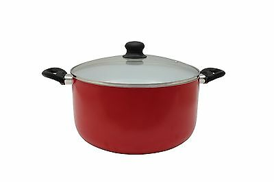 CONCORD 10 QUART Eco Friendly Ceramic Nonstick Dutch Oven Casserole Pot Cookware