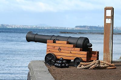 Incredible 4 foot Halloween Pirate Cannon - Pirate Halloween Props