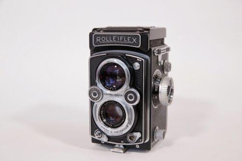 Rolleiflex 3.5B MX-EVS TLR FIlm Camera w/ Schneider Xenar 75mm Lens