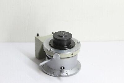 Lomo Polam Microscope Polarising Condenser Pol Filter Petrographic Mikroskop