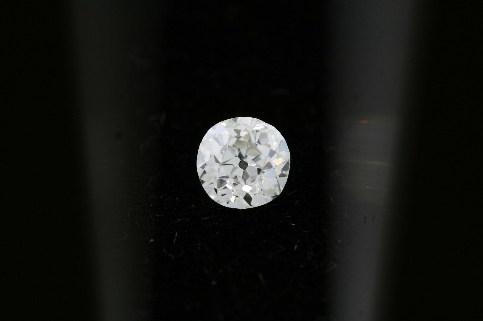 GIA .59ct Old Euro Cut Round Loose Diamond I color, VS1 clarity 5.17-5.39 x 3.2
