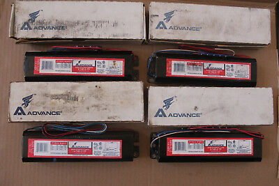 Lot Of 4 Advance V-140-2-tp V1402tp Mark Iii Energy Saver Rapid Start Ballasts