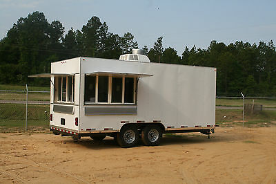 2018 Concession Trailer Mobile Kitchen 8.5 X 18