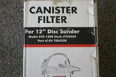 Jet 708434 Canister Filter For 12 Disc Sander Cf-12ds