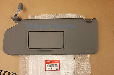 Genuine Honda Sunvisor ATLAS GREY NH598L Driver Side PILOT (2013 - 2015)