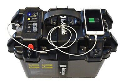 trolling motor smart battery power
