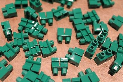 Hosen für Minifiguren Neu short green legs Lego 20 kurze grüne Beine