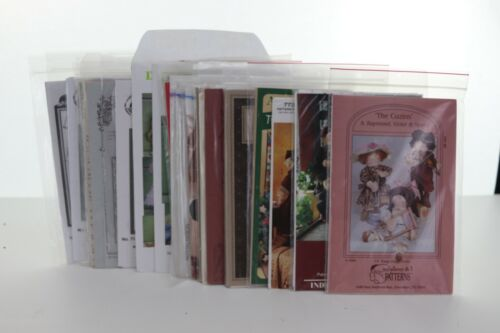 Lot of 24 Doll Sewing Patterns mixed lot.