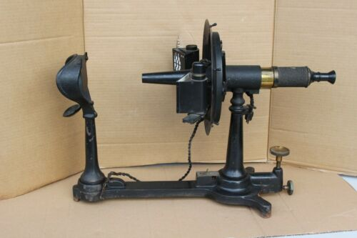 1911 Pat. GENERAL OPTICAL CO. Genothalmic Ophthalmometer Vintage Eye Test Device