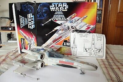 Vintage Star Wars X Wing Fighter 1995 Kenner With Box and Instructions
