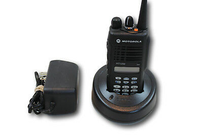 Aah25kdh9aa6an Motorola Ht1250 Vhf 136-174mhz 128 Ch Full Keypad