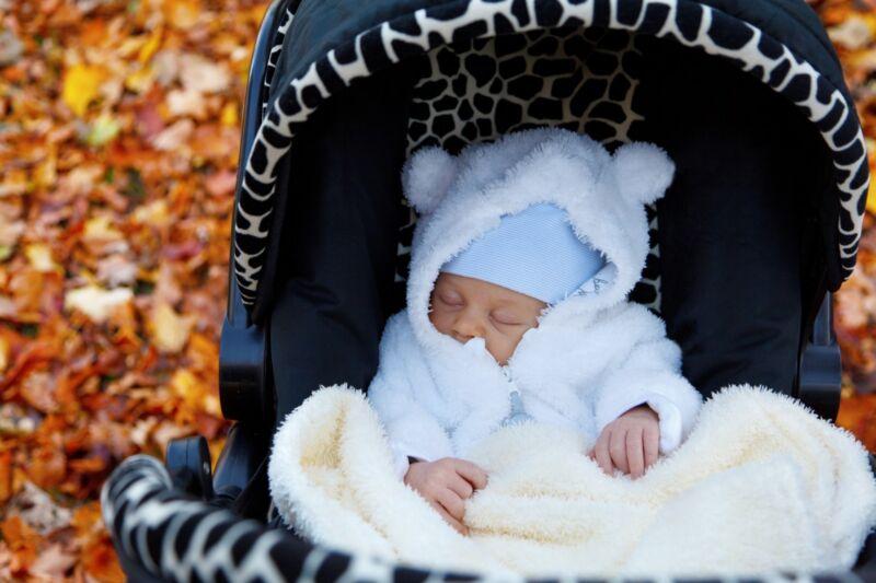 Der Kinderwagen ist in den ersten Lebensmonaten ein ständiger Begleiter