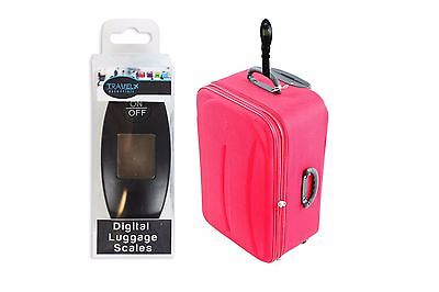 Digital Luggage Scales Portable Weighing Scale Hand Held Travel Suitcase Bag New