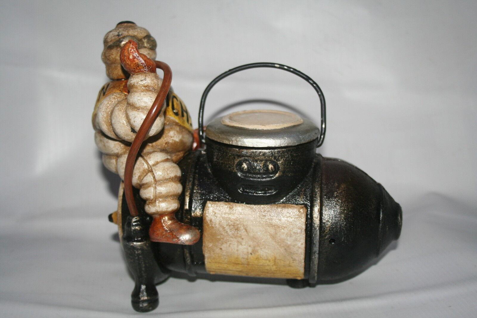Michelin Man Compressor Figure Desk Tidy Vintage Style