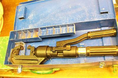 Huskie Cn-58 Hydraulic Hand Crimper With Case