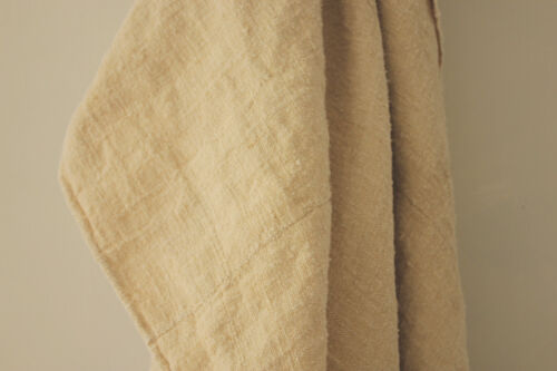 Antique heavy hemp sheet 1800